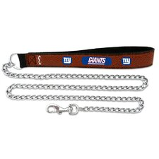 NFL Leather Football Chain Leash
