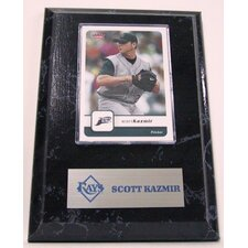 Sports Images Card Plaque MLB Scott Kazmir Card - Tampa Bay Rays Memorabilia Plaque