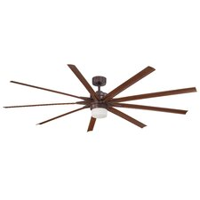 "84"" Odyn 9 Blade Ceiling Fan with Remote"