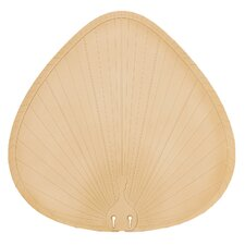 Wide Oval Palm Leaf  Outdoor Ceiling Fan Blade (Set of 5)