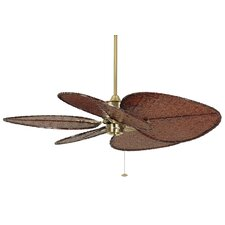 "52"" Islander 5 Bamboo Blade Ceiling Fan (Set of 5)"