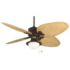 "52"" Louvre 4 Blade Ceiling Fan"