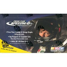 NASCAR 2008 Press Pass Speedway Race Playing Cards (36 Packs)