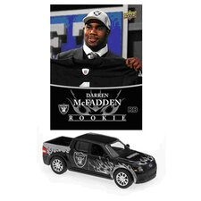 NFL Ford SVT Adrenalin Concept Die-cast - Raiders with Darren McFadden Card - Oakland Raiders