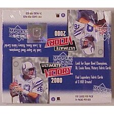 Upper Deck - Trading Cards NFL 2000 Ultimate Victory Wall Cards (Set of 24)
