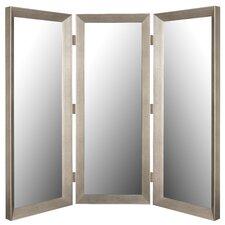 Mirror 3 Panel Room Divider