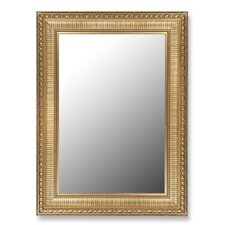 Regal Copper & Gold Accents Framed Wall Mirror