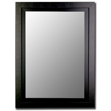 Black / Black Framed Wall Mirror