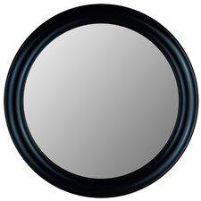 True Glossy Black Framed Wall Mirror
