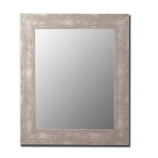 Aosta Mirror in Silver