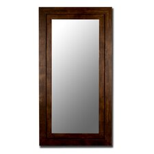Mocha Walnut Grande Framed Wall Mirror