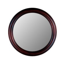 <strong>Hitchcock Butterfield Company</strong> Round Mirror in Cherry
