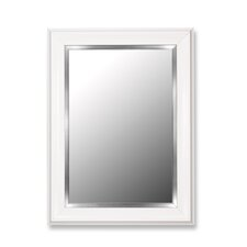 <strong>Hitchcock Butterfield Company</strong> Mirror in Glossy White Grande with Stainless Liner