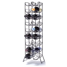 <strong>Oenophilia</strong> Scaffovino 18 Bottle Floor Wine Rack
