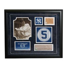 MLB Retired Number Joe Dimaggio Framed Collage - New York Yankees