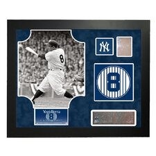 Steiner Collage MLB Retired Number Yogi Berra - New York Yankees Framed Memorabilia