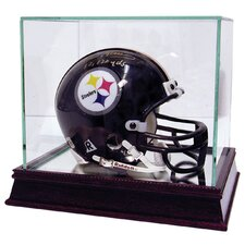 Mini Helmet Glass Display Case