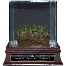 <strong>Steiner Sports</strong> Original Yankee Stadium Freeze-Dried Grass with Glass Display Case