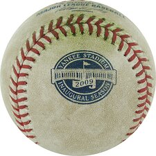MLB Auth Rays at Yankees 5-06-2009 Game Used Baseball