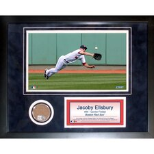 "Jacoby Ellsbury 11"" x 14"" Mini Dirt Collage"