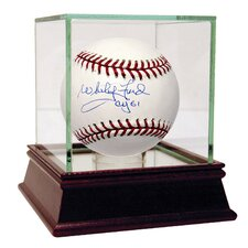MLB Whitey Ford Autographed Baseball with 'CY 61' Inscription