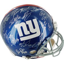 2007 New York Giants Team Signed Helmet