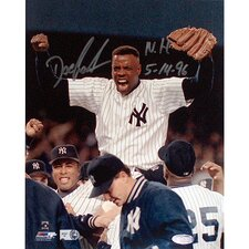 Dwight Gooden Yankees No Hitter Autographed Photograph graph with Inscription