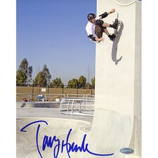 "Tony Hawk Autographed Up The Wall 8"" x 10"" Photo"