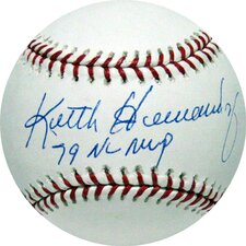 "MLB Keith Hernandez Baseball with ""79 NL MVP"" Inscription (MLB Auth)"