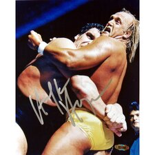 "Hulk Hogan Autographed Vs. Andre the Giant 8"" x 10"" Photograph"