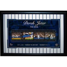 Derek Jeter 'The Dive' Filmstrip Framed Photograph Collage