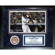 <strong>Steiner Sports</strong> Derek Jeter Mini Dirt Collage
