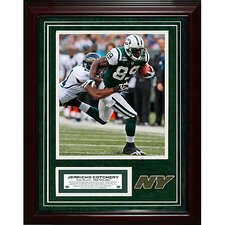 Jerricho Cotchery Unsigned Turf Collage with Photograph
