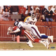 Leonard Marshall Sacking Joe Montana 1990 NFC Title Game Horizontal Photograph