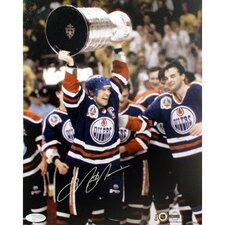 Mark Messier Oilers Cup Overhead Photograph