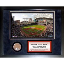 Minute Maid Field Mini Dirt Collage