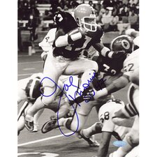 Joe Morris Syracuse Black and White Autographed