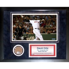 MLB David Ortiz Mini Dirt Collage