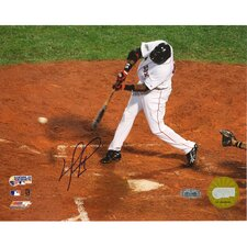 David Ortiz 2007 WS Game 1 Single Autographed