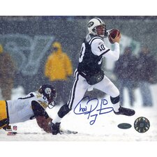 NFL Chad Pennington Snow Vs. Steelers Autographed