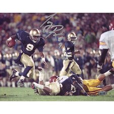 Tony Rice Notre Dame Run Vs. USC Autographed