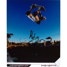 Mathius Ringstrom In Air Autographed
