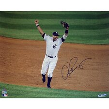 MLB Alex Rodriguez 2009 WS Arms Raised Celebration Horizontal Photograph