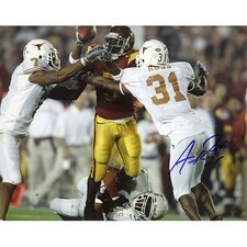 NFL Aaron Ross University of Texas Autographed