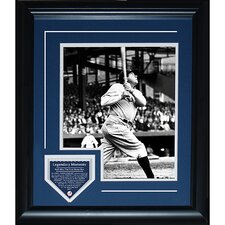Babe Ruth Legendary Moment Framed Collage