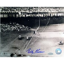 Bobby Thomson Dotted Line Autographed Photograph