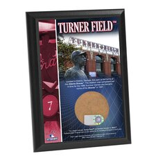 Turner Field 4x6 Dirt Plaque