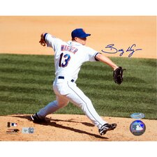 Billy Wagner New York Mets Home Pitch Horizontal Autographed Photograph