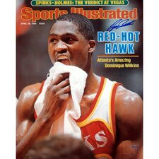 Dominique Wilkins Red Hot Hawk Sports Illustrated Cover