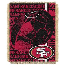 NFL Triple Woven Jacquard Acrylic Throw